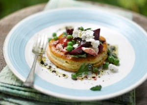 Tarte tatin can be a savoury dish with thyme