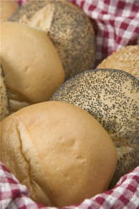 Add spices to bread