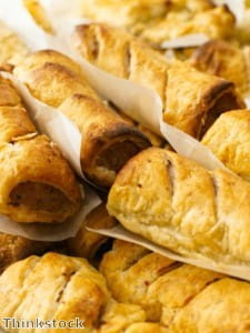 Spices are great in sausage rolls