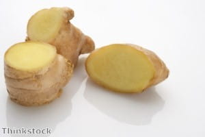 Ginger is useful in curries