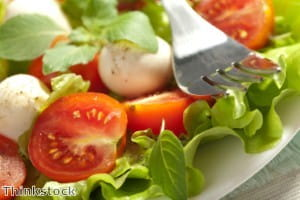 Mozzarella can be customised with herbs