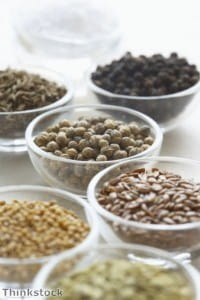 Spices may help to add texture to dishes