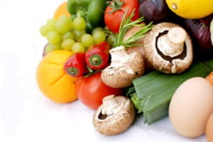 There is an indirect link between healthy diet and reduced cancer risk
