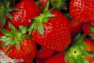 Strawberries can benefit from spices