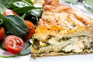 Use herbs when cooking pies