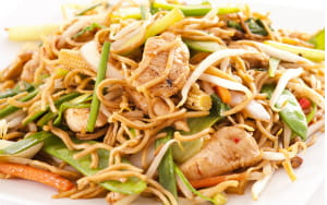 Chinese Five Spice Chicken Noodles