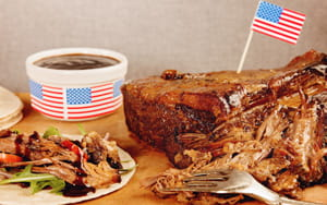 Pulled beef brisket recipe for food service outlets