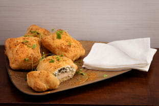 Chicken and Spinach Wellington