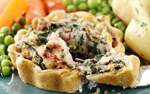 Ricotta and Spinach Tartlets