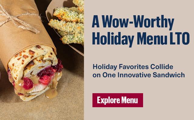 a wow worthy holiday menu LTO