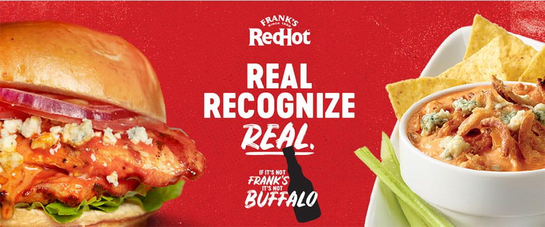 IF IT'S NOT FRANK'S, IT'S NOT BUFFALO