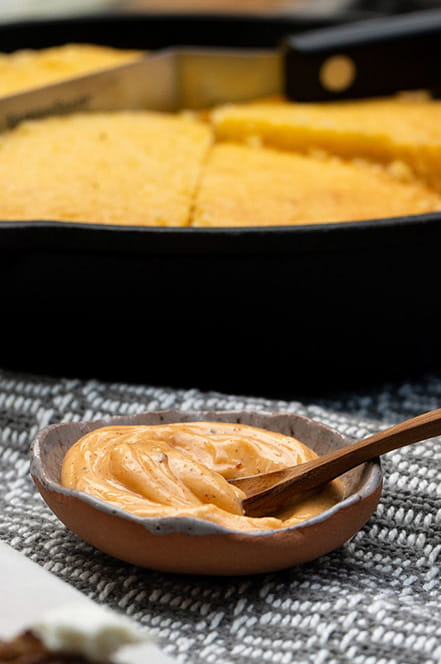 Harissa Honey Butter