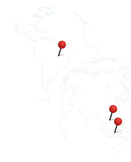 Sourcing Locations of Black pepper