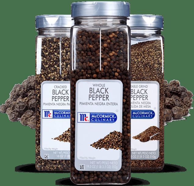 McCormick Culinary Black Pepper Whole