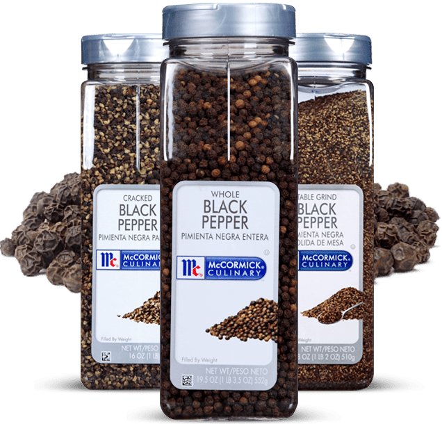 McCormick® Culinary® Black Pepper, Whole
