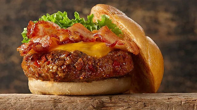 Backyard Brown Sugar Bourbon Burger