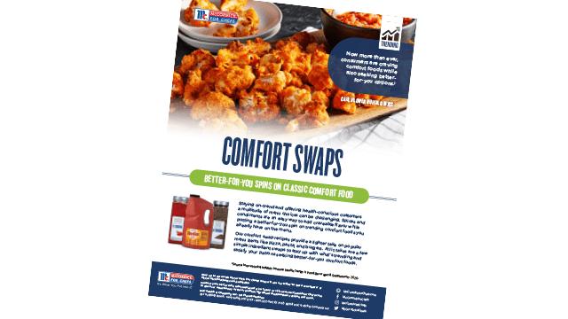 Comfort Swaps Flyer