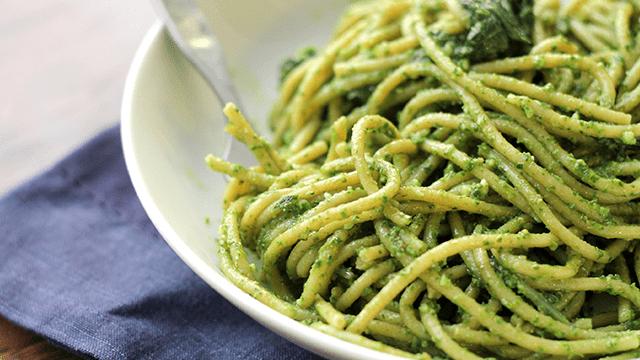 Basil Pesto Zucchini