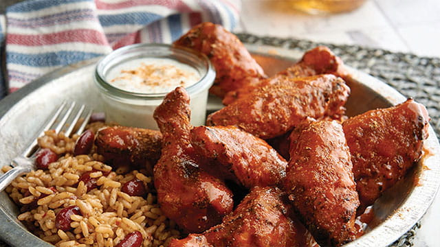 CAJUN HOT WINGS