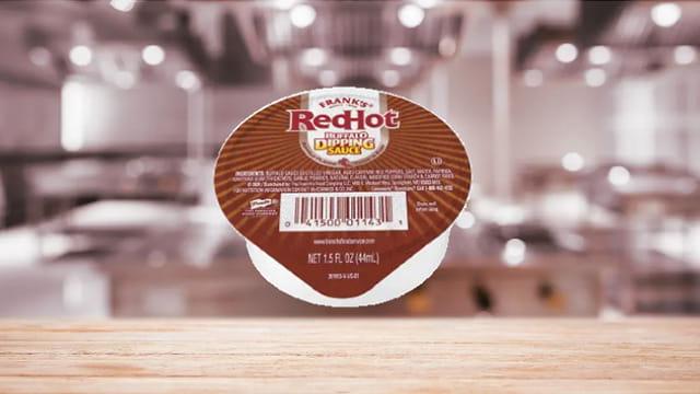 Frank's RedHot® Buffalo Dipping Sauce Dip Cup
