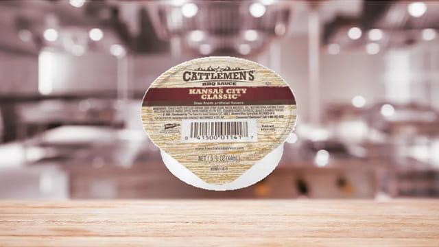 CATTLEMENS® CATTLEMEN'S KANSAS CITY CLASSIC BBQ SAUCE DIP CUP