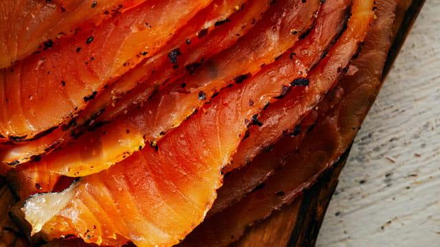 Dulse Cured Salmon