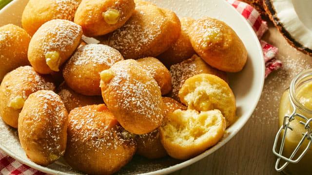 Pandan Kaya Donuts