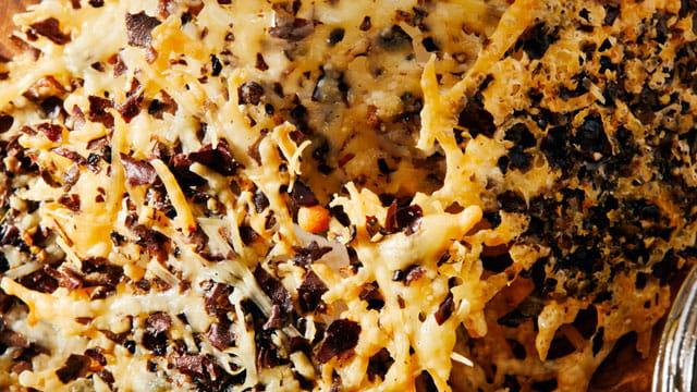Parmesan and Dulse Crisp