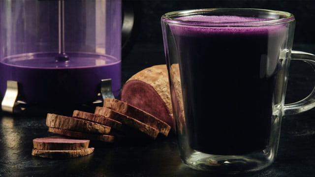 Ube-latte