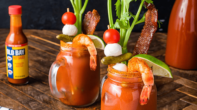 Fiery OLD BAY®  Bloody Mary