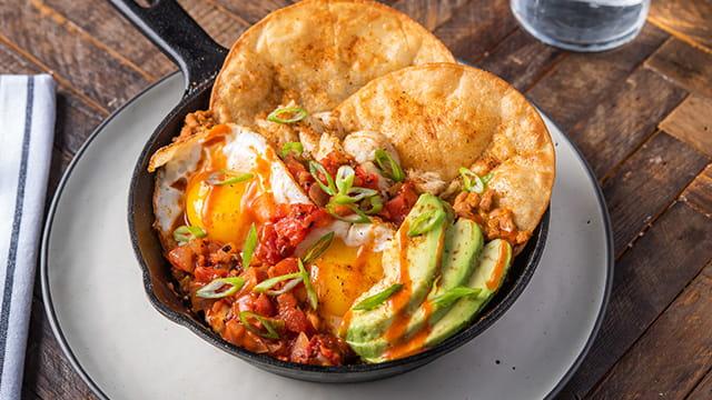 OLD BAY® Hot Sauce Fiery Bayside Huevos Rancheros