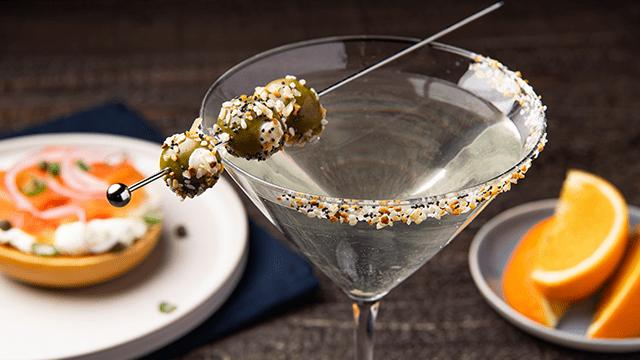 Everything Bagel Martini