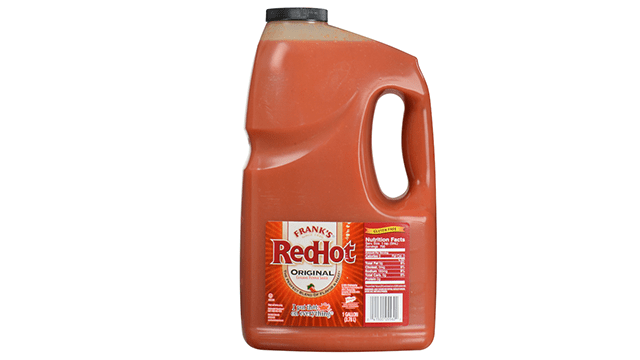 Frank�s Red Hot Sauce