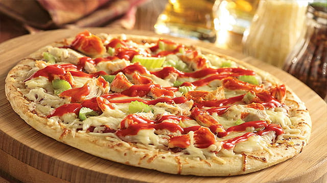 ULTIMATE BUFFALO CHICKEN PIZZA