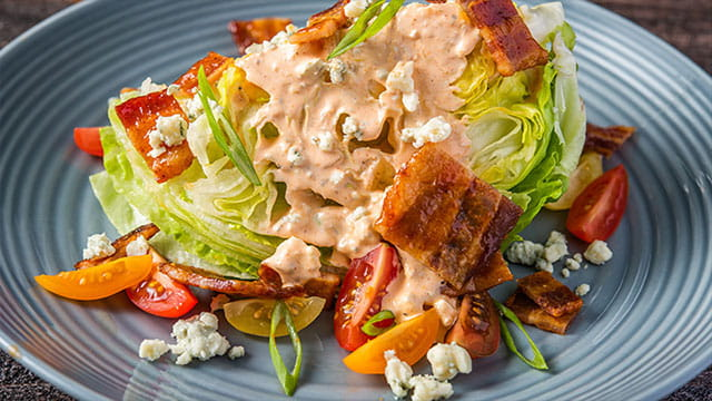 OLD BAY® HOT SAUCE SPIKED WEDGE SALAD