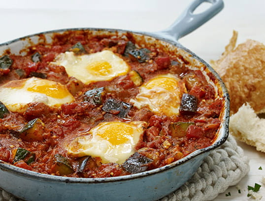 MEDITERRANEAN VEGETABLE SHAKSHUKA