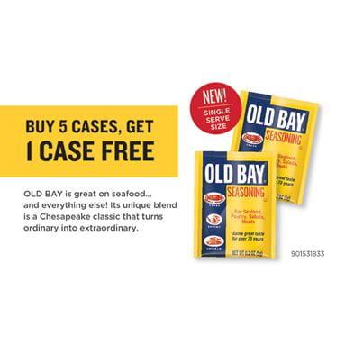 OLD BAY OLD BAY Packets Rebate Coupon