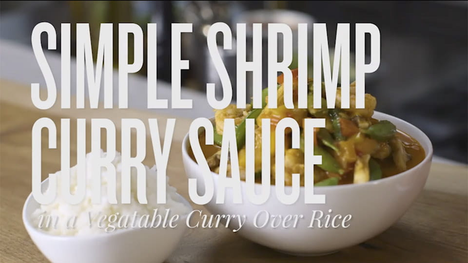 Easy Red Curry Shrimp
