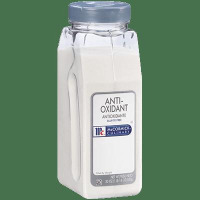 McCormick Culinary Anti Oxidant sulfite free