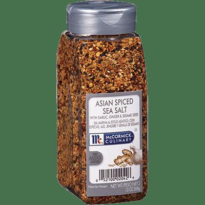McCormick Culinary Sea Salt Asian Style Spiced