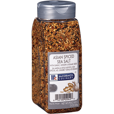 McCormick® Culinary® Sea Salt, Asian Style Spiced