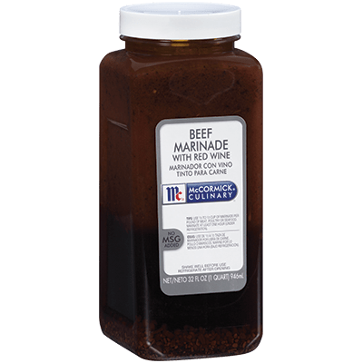 McCormick® Culinary® Beef Marinade with Red Wine