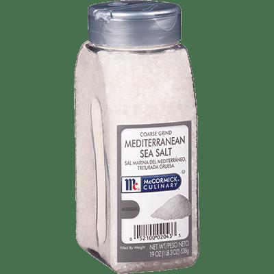 McCormick® Culinary® Sea Salt, Mediterranean Coarse Grind