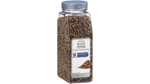 McCormick Culinary Black Pepper Cracked
