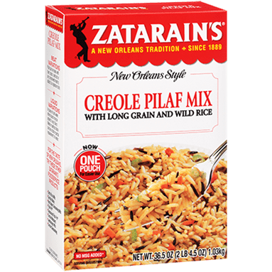 Zatarains® Creole Pilaf Mix with Long Grain & Wild Rice
