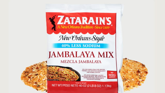 Zatarains Jambalaya Mix Reduced Sodium