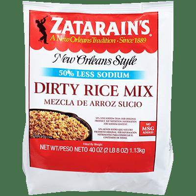 Zatarains® Dirty Rice Mix, Reduced Sodium
