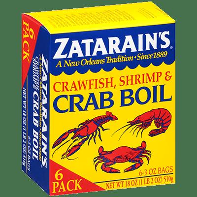 Zatarains Dry Crab Boil