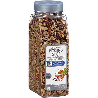 McCormick® Culinary® Pickling Spice, Extra Fancy