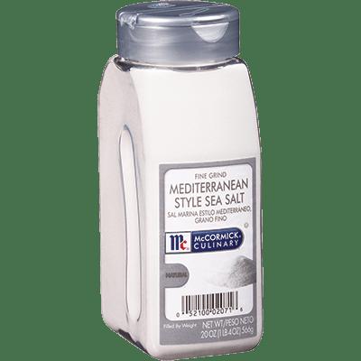 McCormick Culinary Sea Salt Mediterranean Fine Grind